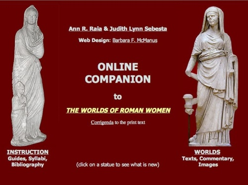 Online Companion to the Worlds of Roman Women (New York College)